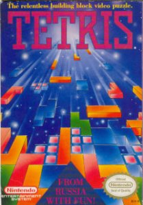 Tetris-game-commodore 64