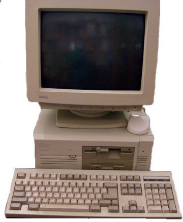 Dell Precision 386 from 1992