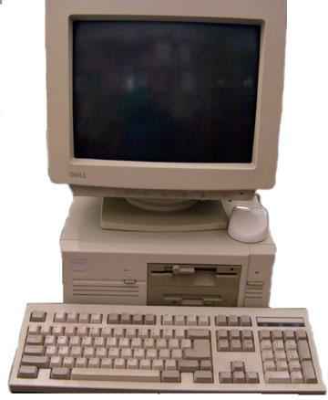 Dell Precision 386 from 1992