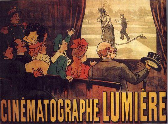 World's first film poster for 1895's L'Arroseur arrosé (The Sprinkler Sprinkled)