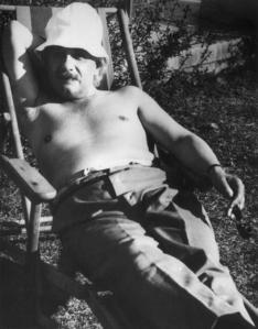 Albert-Einstein-chillin