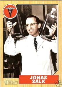 There was even a Salk Baseball card