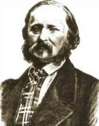 French typographer Édouard-Léon Scott de Martinville (1817-1879)
