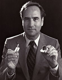 220px-Ted_Maiman_Holding_First_Laser