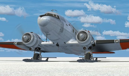 douglas-c-47-skytrain-on-skis-fsx1