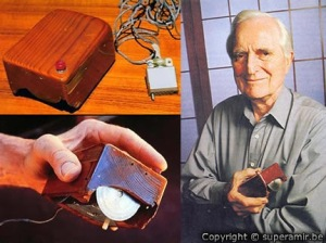 Douglas Englebart and the first mouse prototype