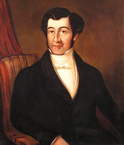 Joseph Bramah- portrait in oils