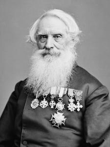 Samuel F. B. Morse (between 1865 and 1880) Photoportrait by Mathew Brady