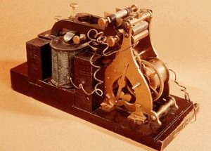 Samuel Morse Telegraph Receiver Used to receive the message during the demonstration to Congress in 1844