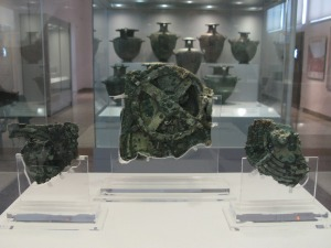 On display at the National Archaeological Museum of Athens