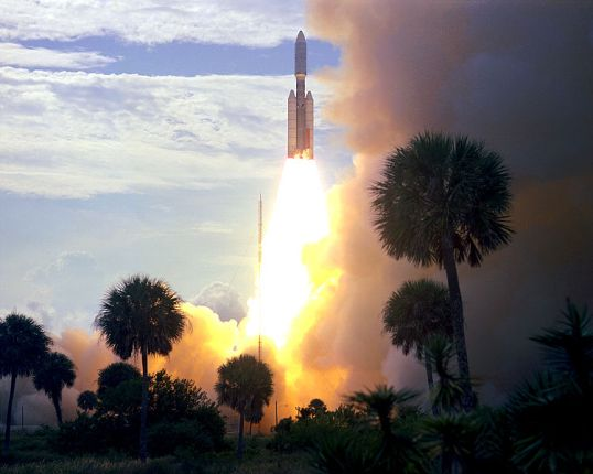 Launch of Viking 1