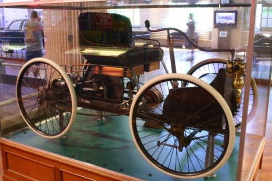 Ford Quadricycle at The Henry Ford museum in Dearborn, MI