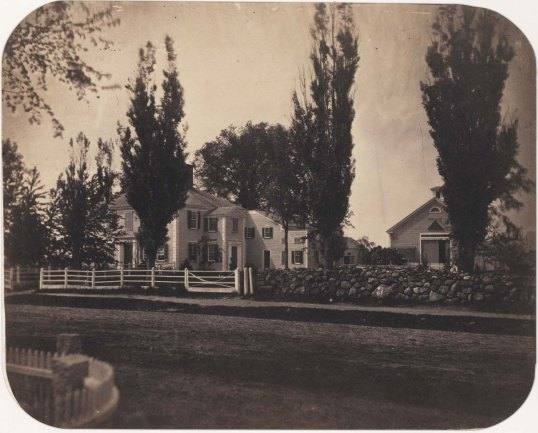 George Washington's house taken by Whipple in 1855