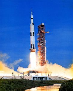 Apollo 15 launches on July 26, 1971