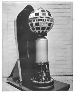 Telstar 1 prior to its encapsulation for launch