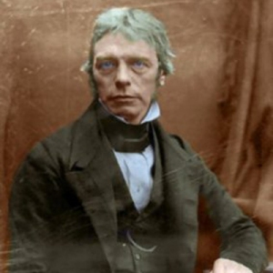 Faraday appeared in many early photographs, such as this daguerreotype