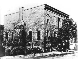 The plant of the Tabulating Machine Corp. is seen here in 1893.