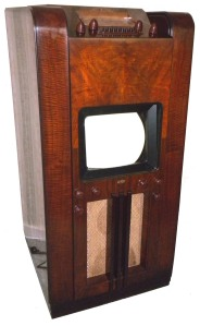 1939 Dumont 181 TV with radio, original price was $540.00