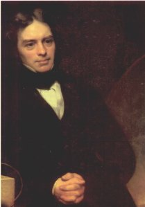 Faraday in his youth