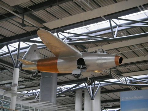 Heinkel He 178 replica at Rostock-Laage Airport