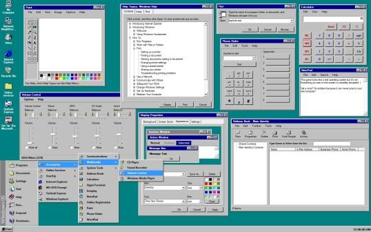 Windows 95 Screen Shot