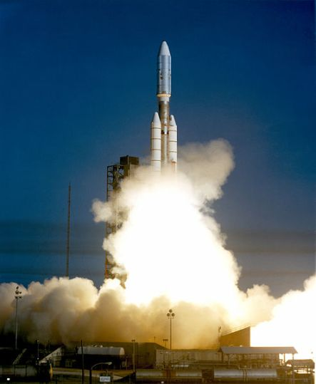 Launch of Voyager 1