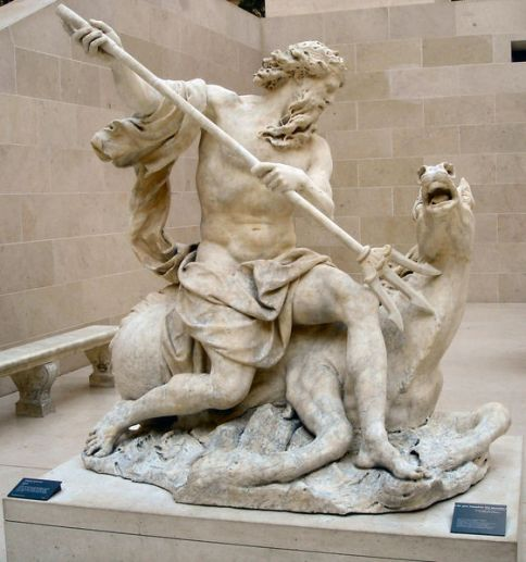 Neptune at the Louvre
