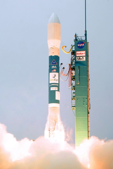 Launched on the Delta II