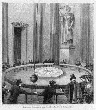 f-pargent-leon-foucault-uses-his-pendulum-to-demonstrate-the-rotation-of-the-earth-at-the-pantheon-paris-1851