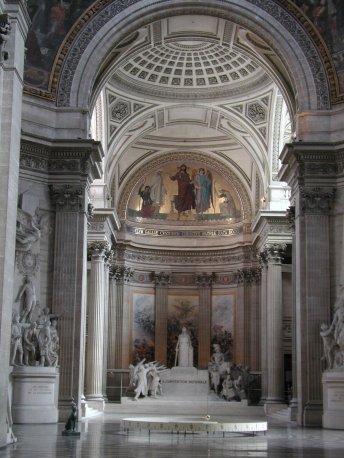 Foucault's pendulum at the Pantheon in Paris