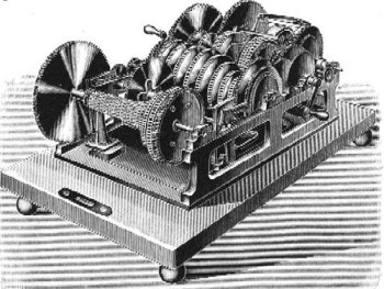 Torres' algebraic machine from 1893