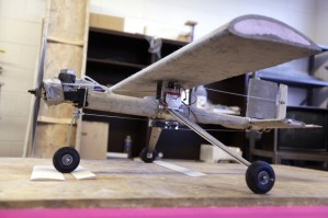 Dr. Marion Hansen taught students at South Dakota School of Mines & Technology to build and fly this concrete airplane.