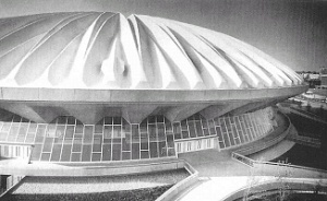 Assembly Hall - University of Illinois, The First Concrete Domed Sport Structure, 1967