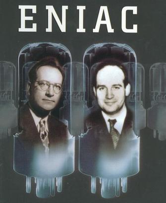 John Mauchly and Presper Eckert