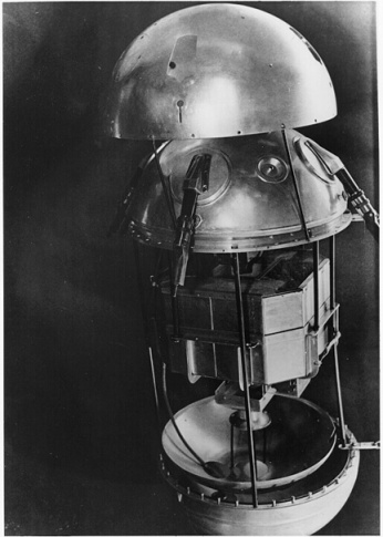 Over half of the weight of the satellite was due to the batteries which powered it. Sputnik had two radio transmitters and instruments to measure temperature and pressure within the satellite.