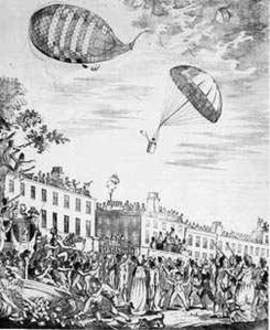 The first ever Parachute jump from a Balloon008
