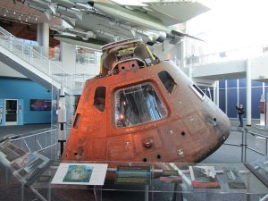 Apollo 12 Command Module in Virginia Air & Space Center, Hampton, VA