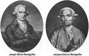 Joseph and Étienne Montgolfier