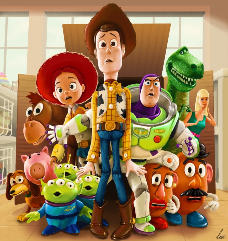 Toy Story Toys : Toy story this day in tech history