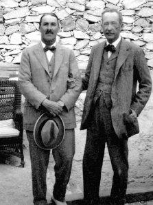 Carter (left) & Carnarvon