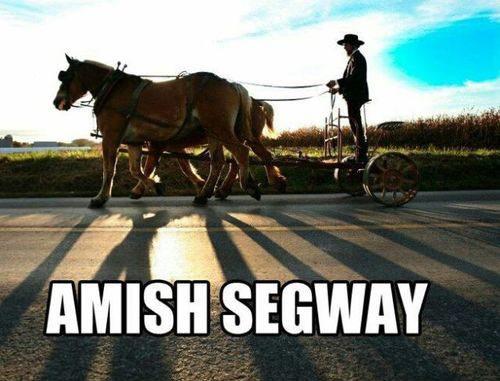 Amish-Segway