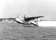 Mariner Aircraft at Takeoff