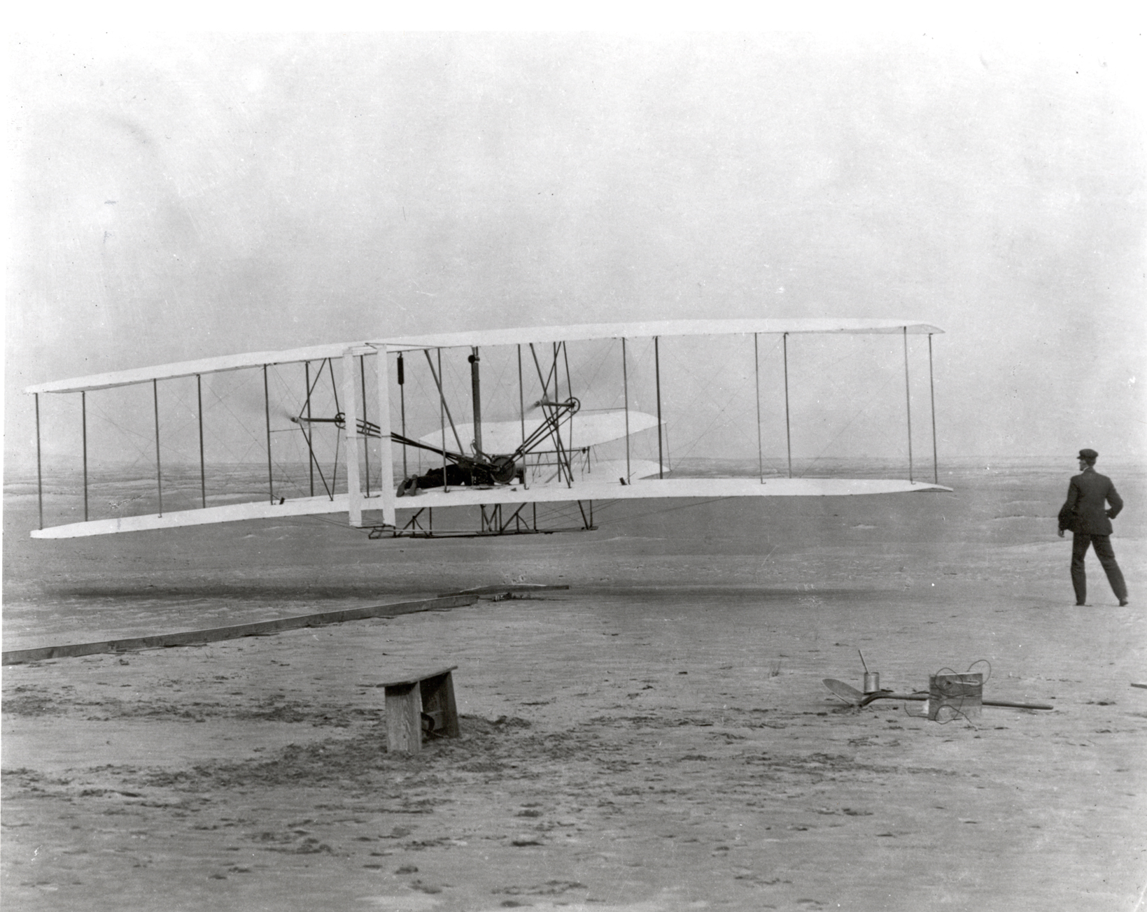 """the gift of flight from the orville brothers Just three weeks after the wright brothers pioneered flight, orville wright explains what went wrong – and right the longest flight, he says, was 59 seconds: chalk that up to """"pilot error"""" or what wright calls here, """"the inexperience of the operator of this particular machine""""."""