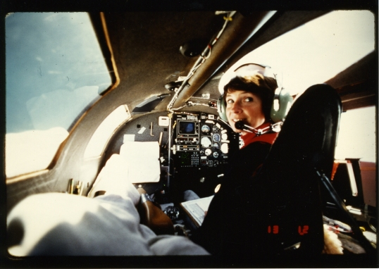 Yeager in the aircraft