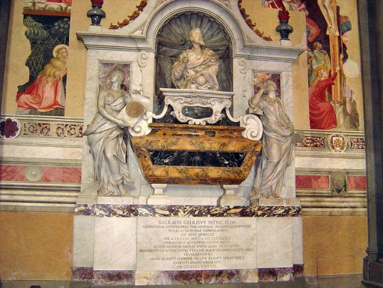 Tomb of Galileo Galilei, Santa Croce