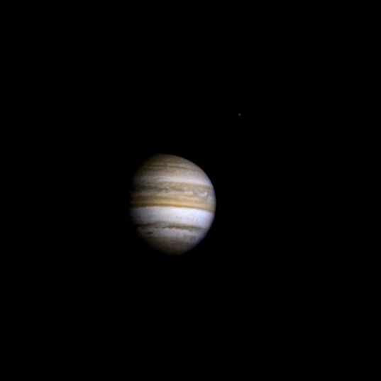 Pioneer's approach to Jupiter