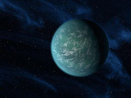 Artist's concept of Kepler-22b.