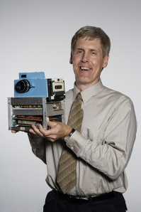 Steve Sasson and 1st digital camera