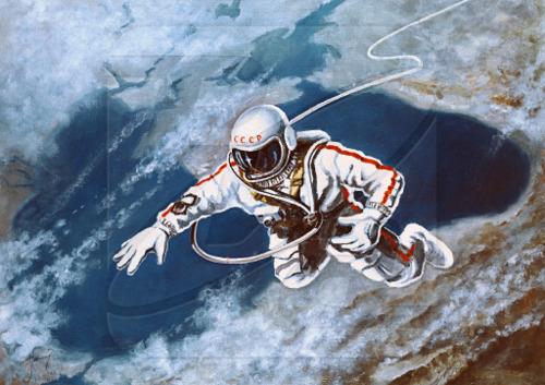 Cosmonaut Alexei Leonov This Day In Tech History