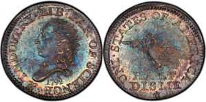 Rittenhouse was one of the first owners of this half dime coin that sold for 1.5 million in 2007